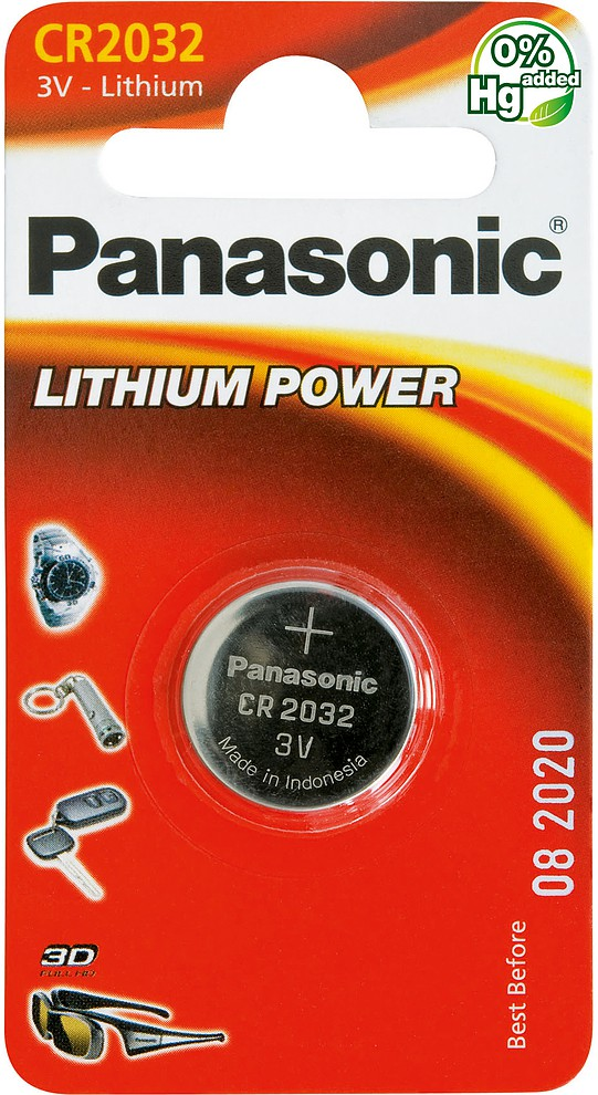 Батарейка Panasonic CR2032